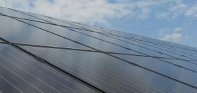 Наземна фотоволтаична електроцентрала с мощност 100kW и модули Hanwha 185Wp Black Diamond