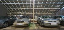 Фотоволтаичен паркинг в гр София